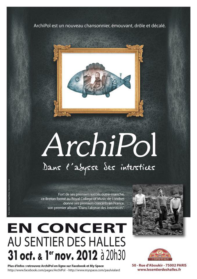 Affiche de concerts et photos des albums